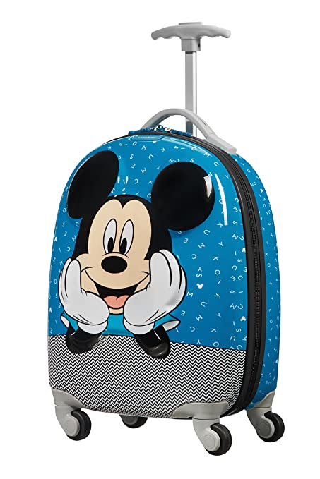 53df57f83 SAMSONITE Disney Ultimate 2.0 - Spinner 49/17 1.7 KG Children's Luggage, 49  cm, 20.5 liters, Multicolour (Mickey Letters): Amazon.co.uk: Luggage