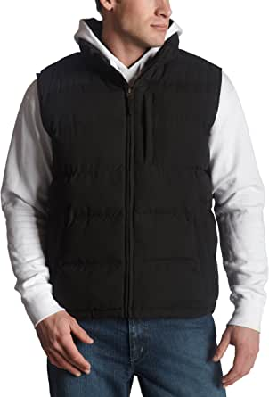 Weatherproof Men's Puffer Vest,Black,XX-Large
