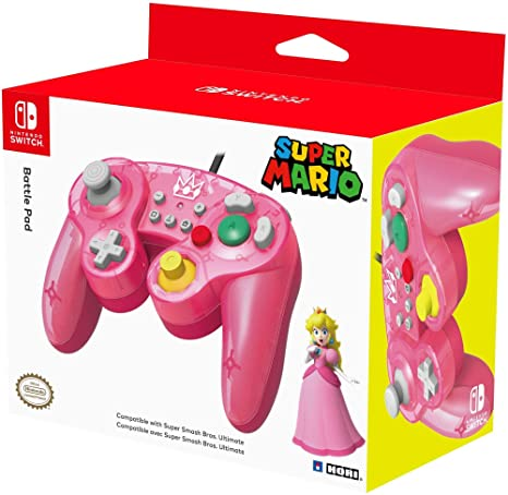 really cheap stable quality best website HORI Battle Pad (Peach) - Manette USB style GameCube pour ...