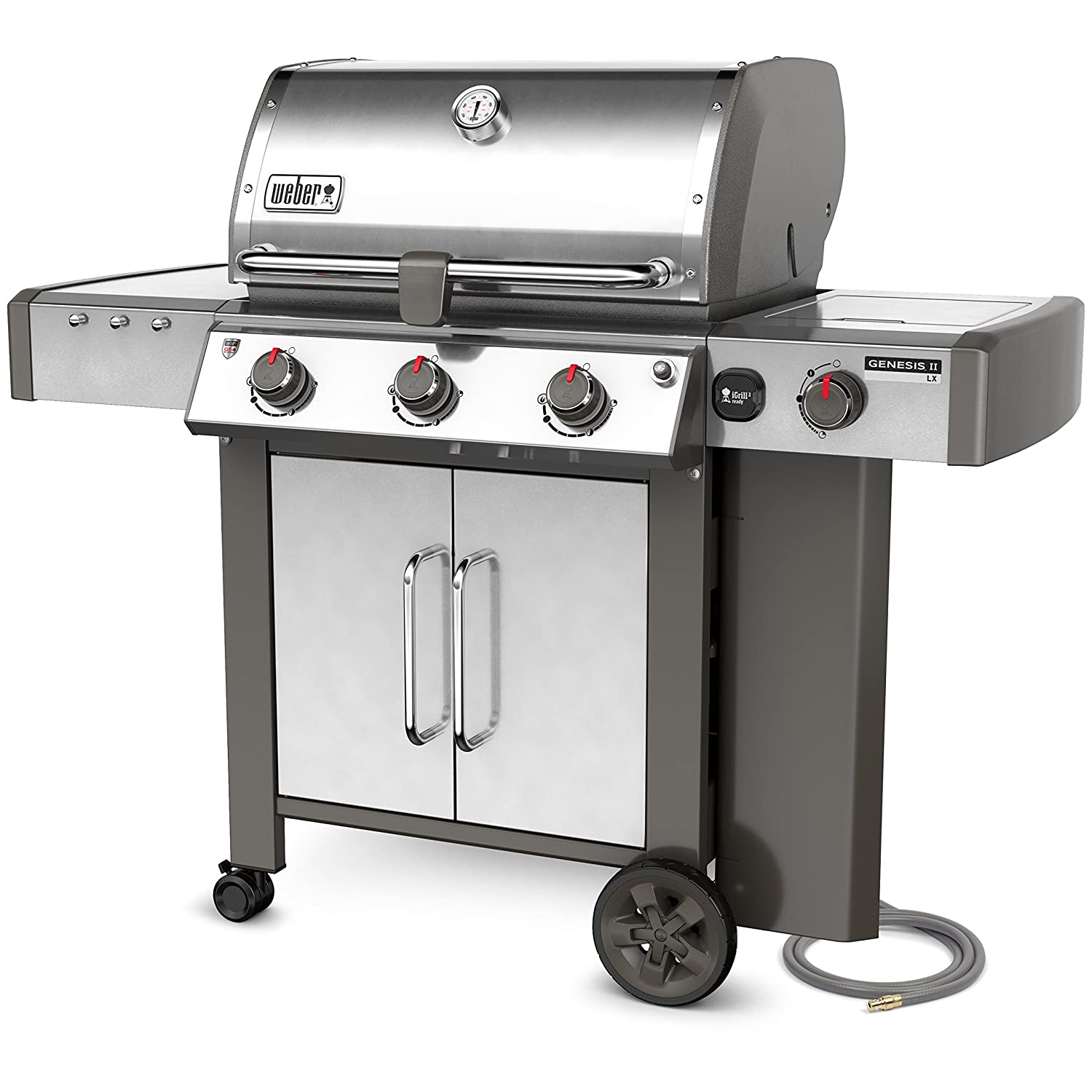 Amazon.com: Weber 66004001 Genesis II LX S-340 Natural Gas Grill ...