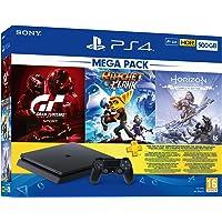 PS4 500GB Mega Paket (HZD CE + GT Sport + Ratchet & Clank + 3 Aylık PS Plus)