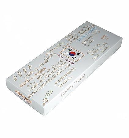 Ein Paar Traditionelle koreanische koreanische essstäbchen in Metal ...