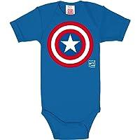 Logoshirt Marvel Comics - Capitán América Logo Body