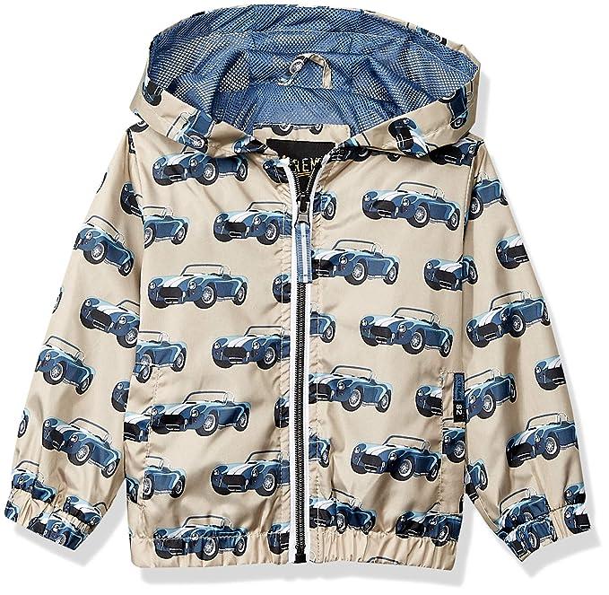 iXtreme Baby Boys Car Printed Windbreaker, Blue, 12M