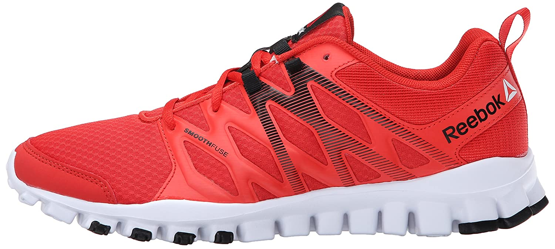 new arrival 6cdb0 f5606 Reebok Men s Realflex Train 4.0 Training Shoe, Motor Red Laser Red Black  White, 9.5 M US  Amazon.ca  Shoes   Handbags