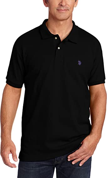 U.S Polo Association Men/'s Short Sleeve Interlock Polo Shirt