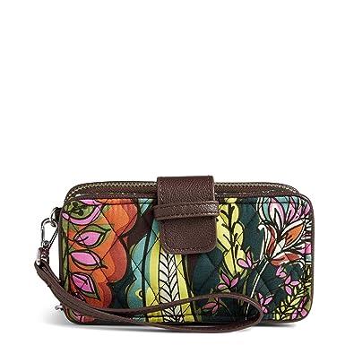 f707c6264f8e Vera Bradley RFID Smartphone Wristlet Autumn Leaves  Handbags ...