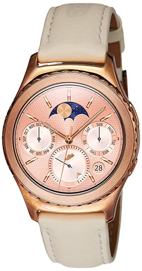 Samsung Gear S2 Smartwatch (Rose Gold) Smart Watches & Accessories at amazon