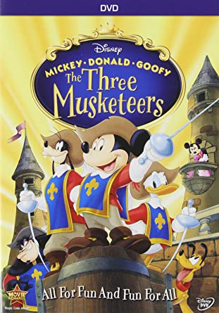 Amazon com: Mickey, Donald, Goofy: The Three Musketeers