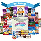 Nuts, Meat, Protein and Snacks, Gift for Men, College Student Care Package, 25 Count