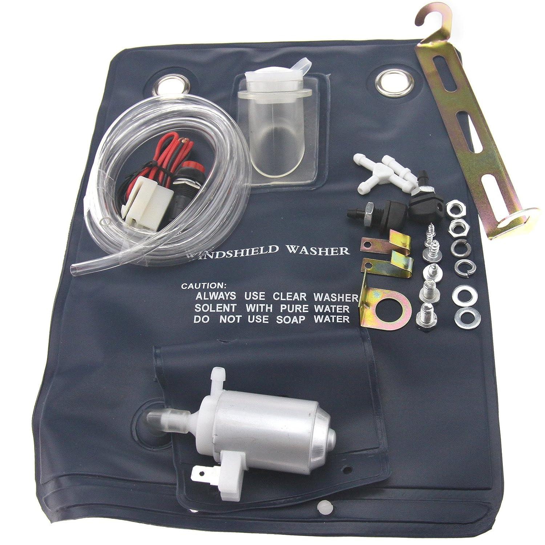 12V universal Scheibenwaschanlage Wassersack Pumpe Scheibenreinigung ENET