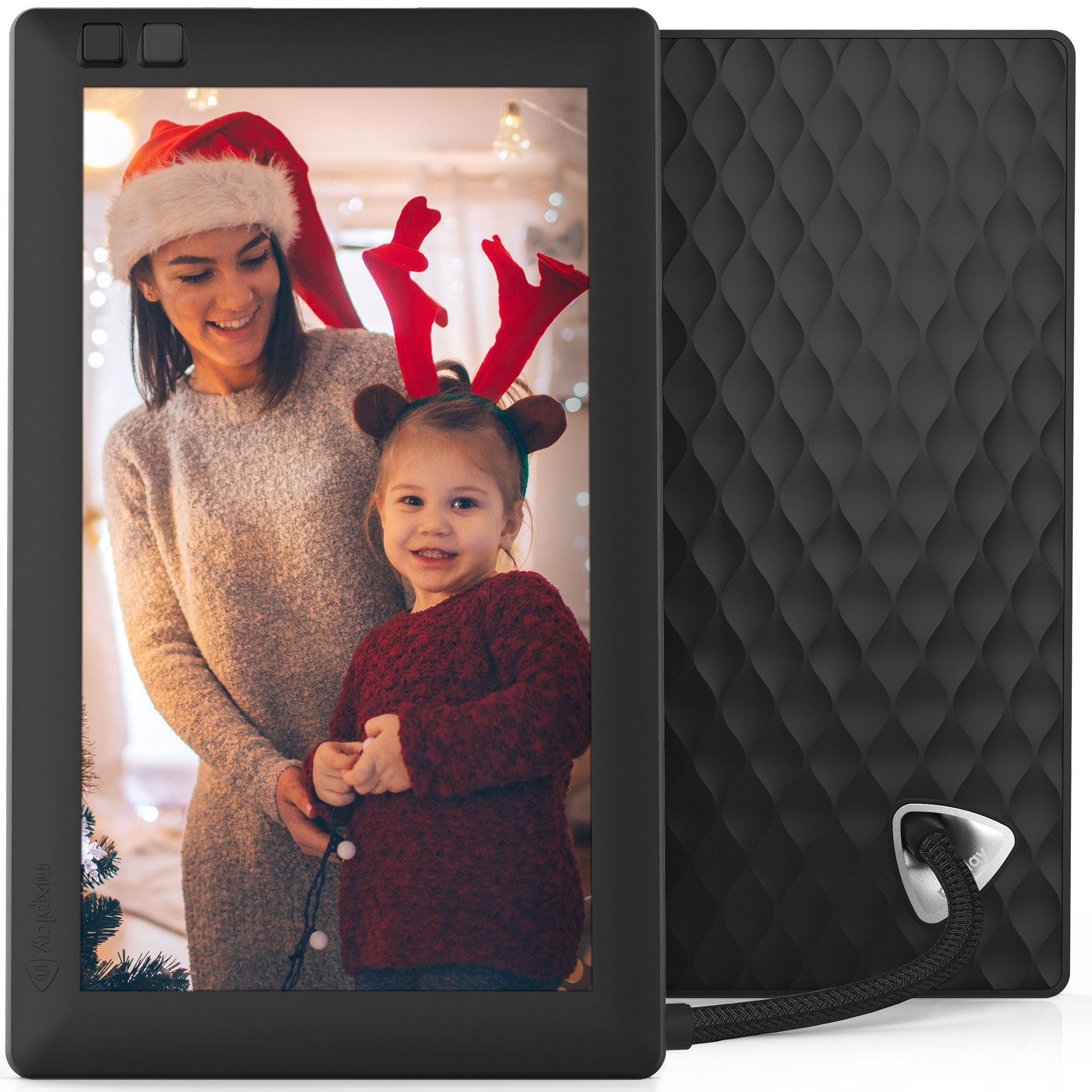 Nixplay Seed 7 inch WiFi Digital Photo Frame - Black  by Nixplay