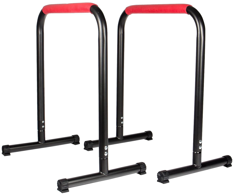 SportPlus Barras Paralelas Multiusos – Ideal para Entrenamiento de Piernas Lagartijas Flexiones