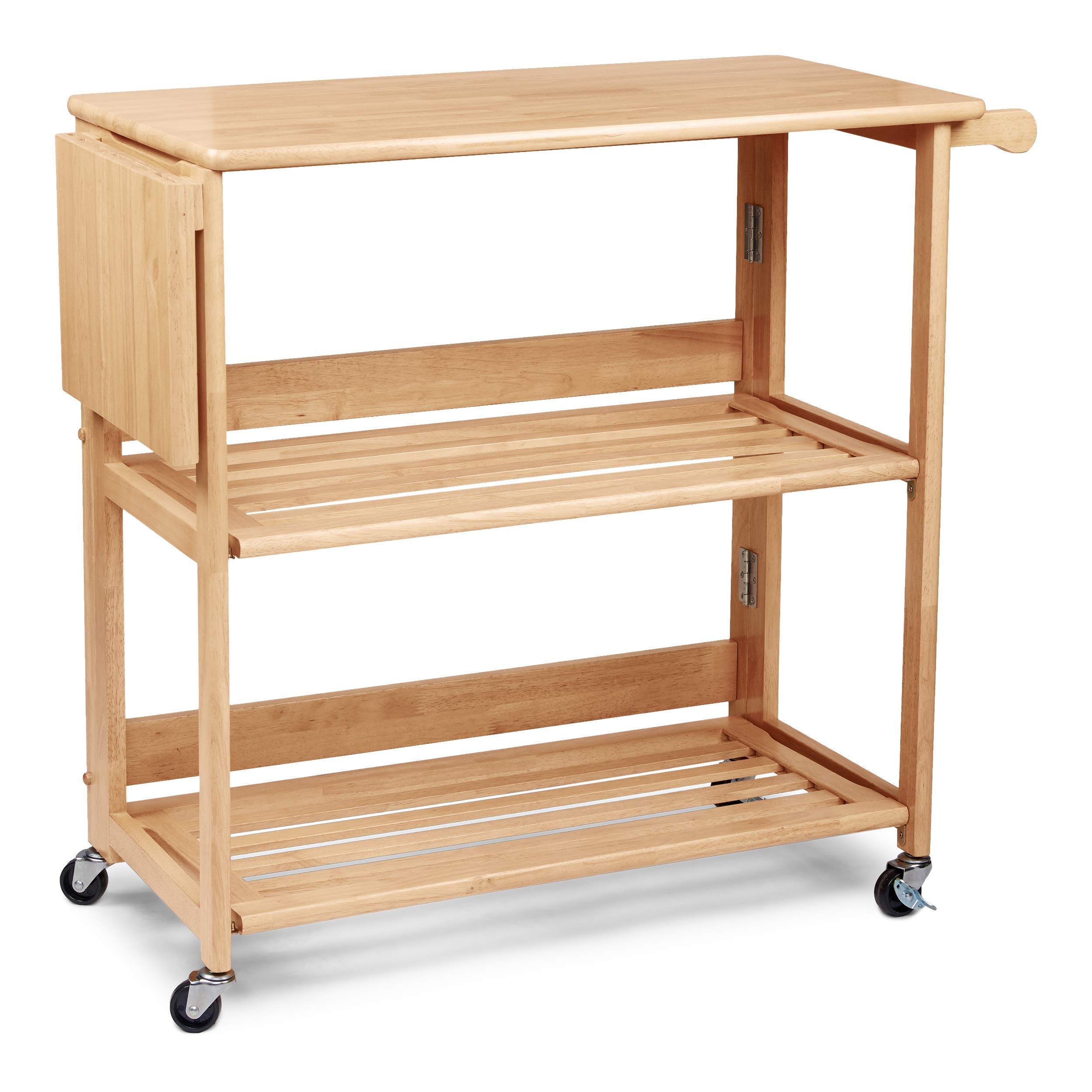 Civet Home TB07-0202-001-SG-A04 Kitchen Cart, Natural