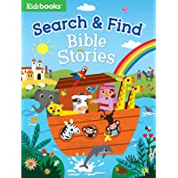 Search & Find: Bible Stories-A Fun Introduction to Bible Stories as Children Search for People, Animals, and Objects…
