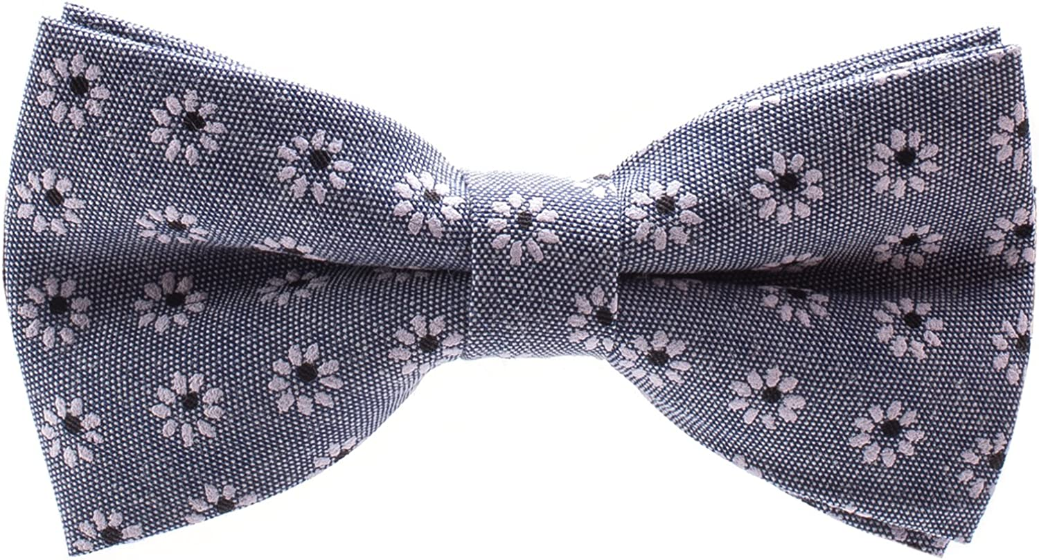Pretied Paisley Flower Bowties Floral Bow Tie for Men Choice of Color