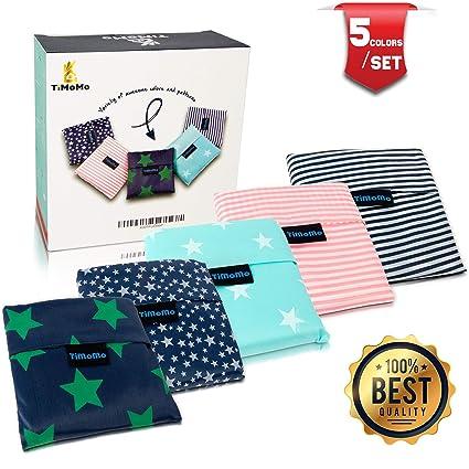 dcf8b6d29c Folding Reusable Grocery Bags 5 Pack - 25 quot x15.5 quot  Capacity -  Washable