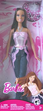Barbie Fashion Fever Disco Ball Doll Teresa In Pink Top And Jeans by Mattel