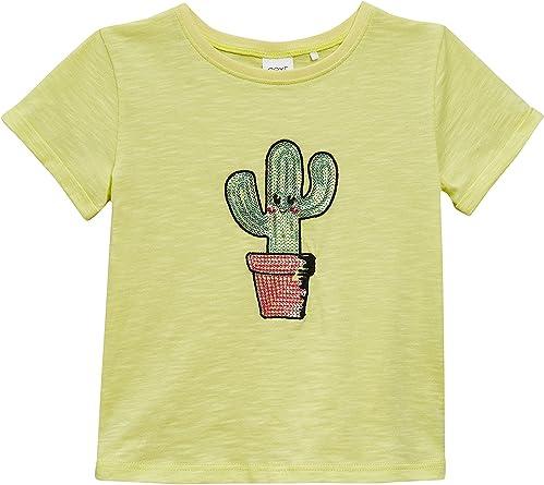 next Niñas Camiseta De Cactus Y Lentejuelas (3 Meses - 6 Años ...