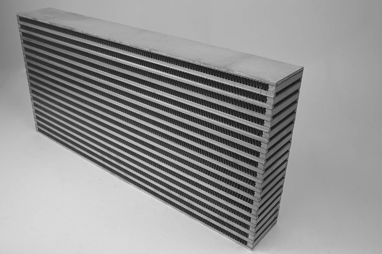 CSF 8045 25 x 12 x 3.5 High Performance Bar and Plate Intercooler Core