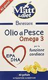 Matt&Diet Olio di Pesce, Omega 3 - 29 gr