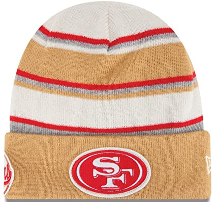e004c7da95bb1 Image Unavailable. Image not available for. Color  49ERS WINTER TRADITION  CUFFED BEANIE