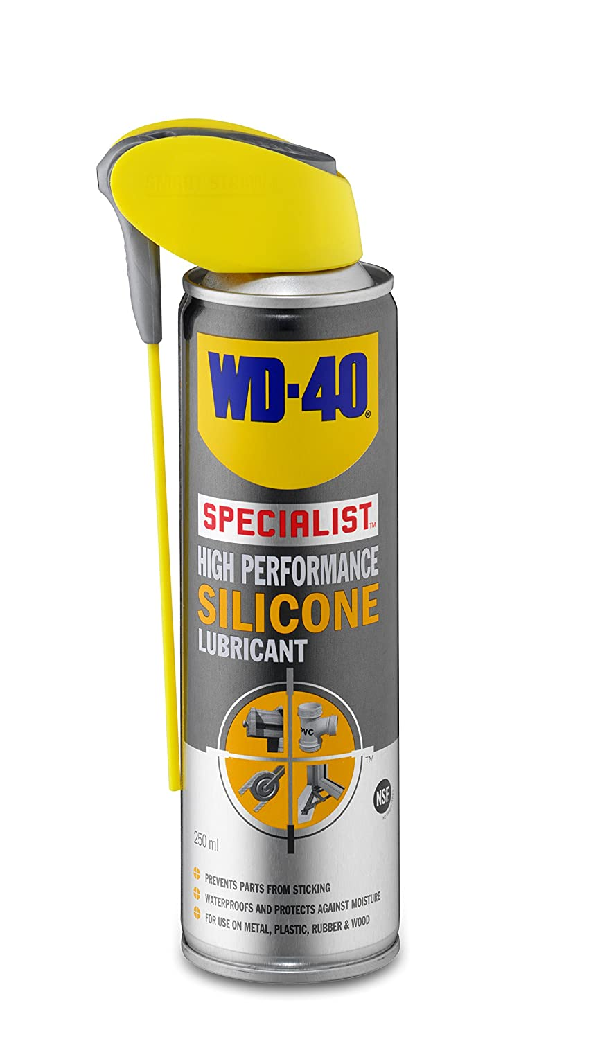 WD40 High Performance Silicone Lubricant 250ml WD40D 44722
