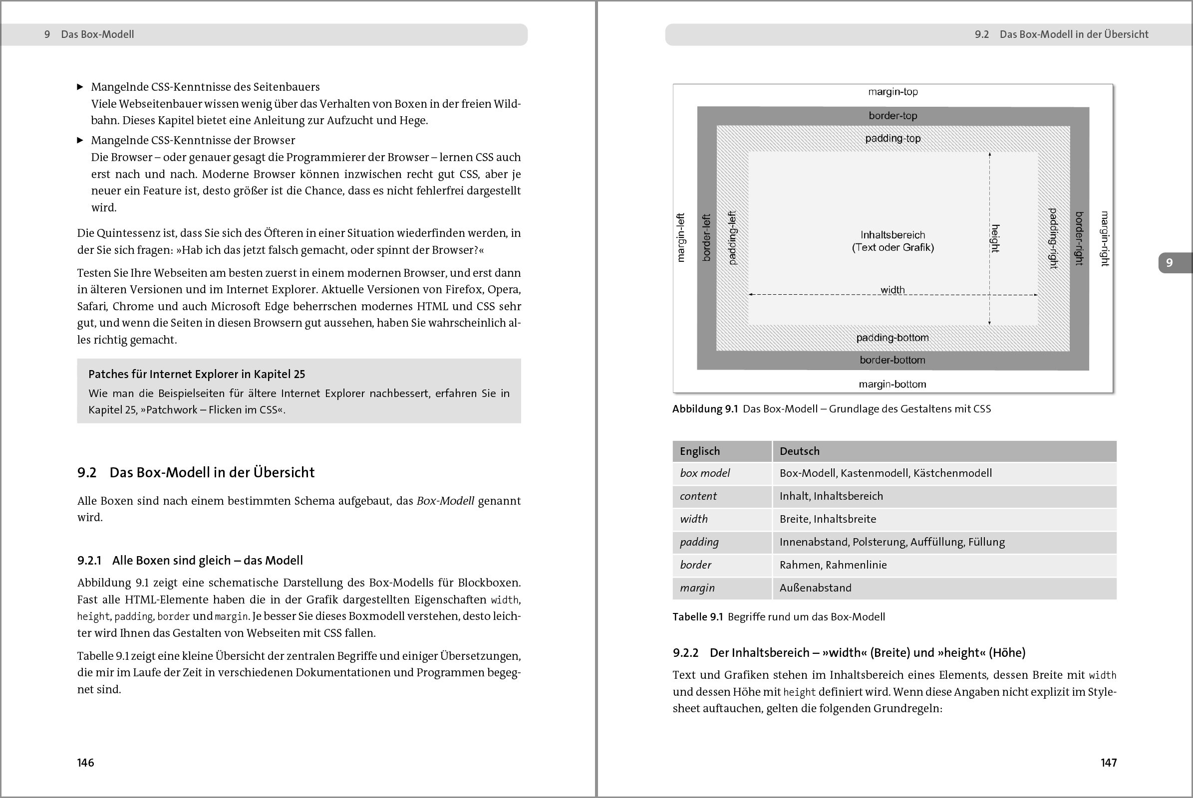 Einstieg In Css Webseiten Gestalten Mit Html Und Css Amazon De