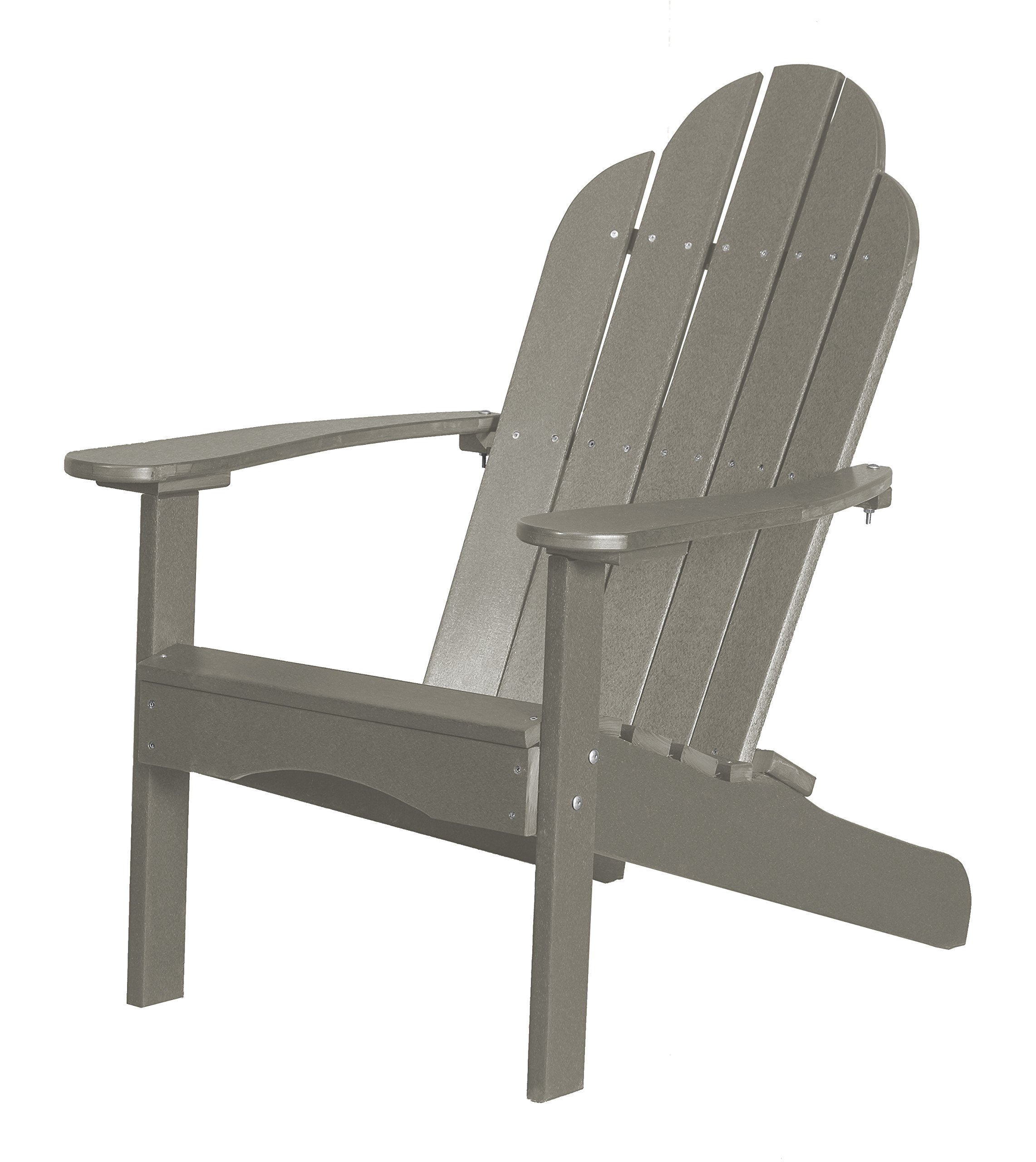 Little Cottage Company Lcc-214 Classic Adirondack Chair, Light Gray
