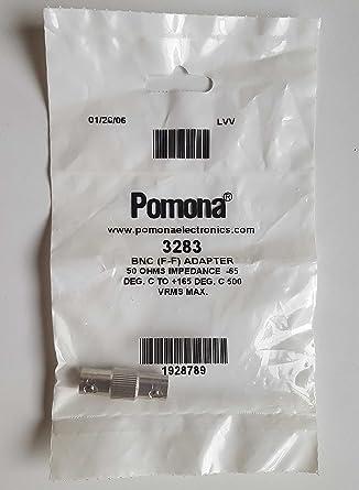 Pomona Electronics 3283 BNC Adapter BNC Female to Female 50ohms