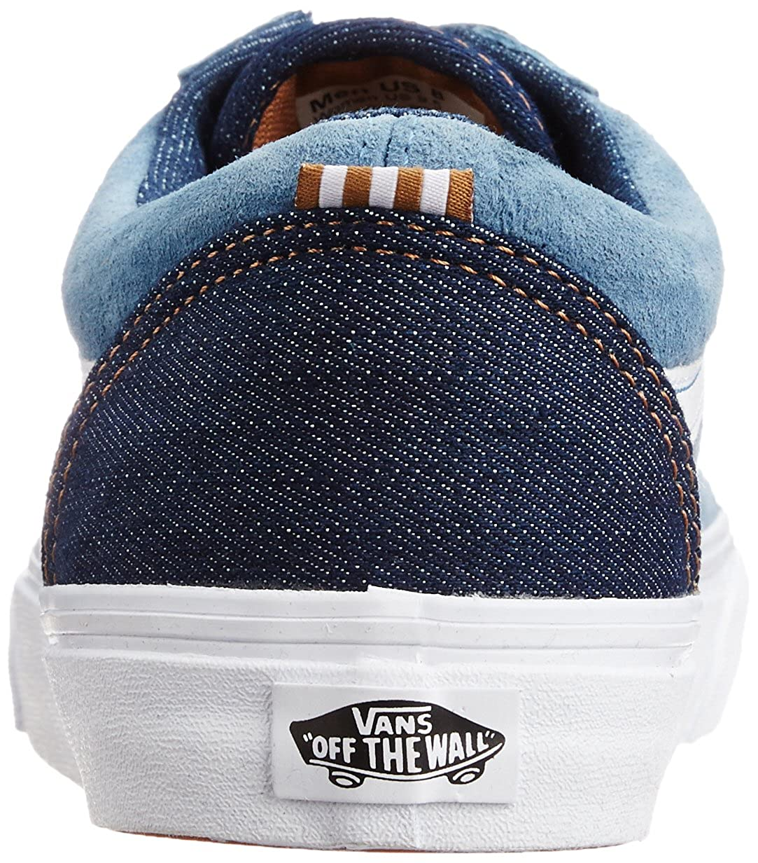 e40800b3c6 Vans Men s Old Skool Reissue Ca Copen Blue Canvas Sneakers - 12 UK  Buy  Online at Low Prices in India - Amazon.in