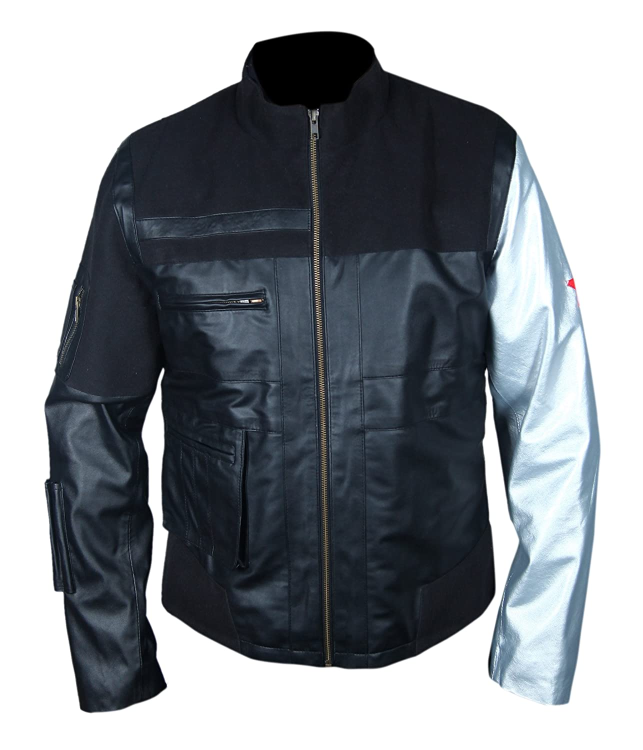 Civil War Winter Soldier Leather Jacket