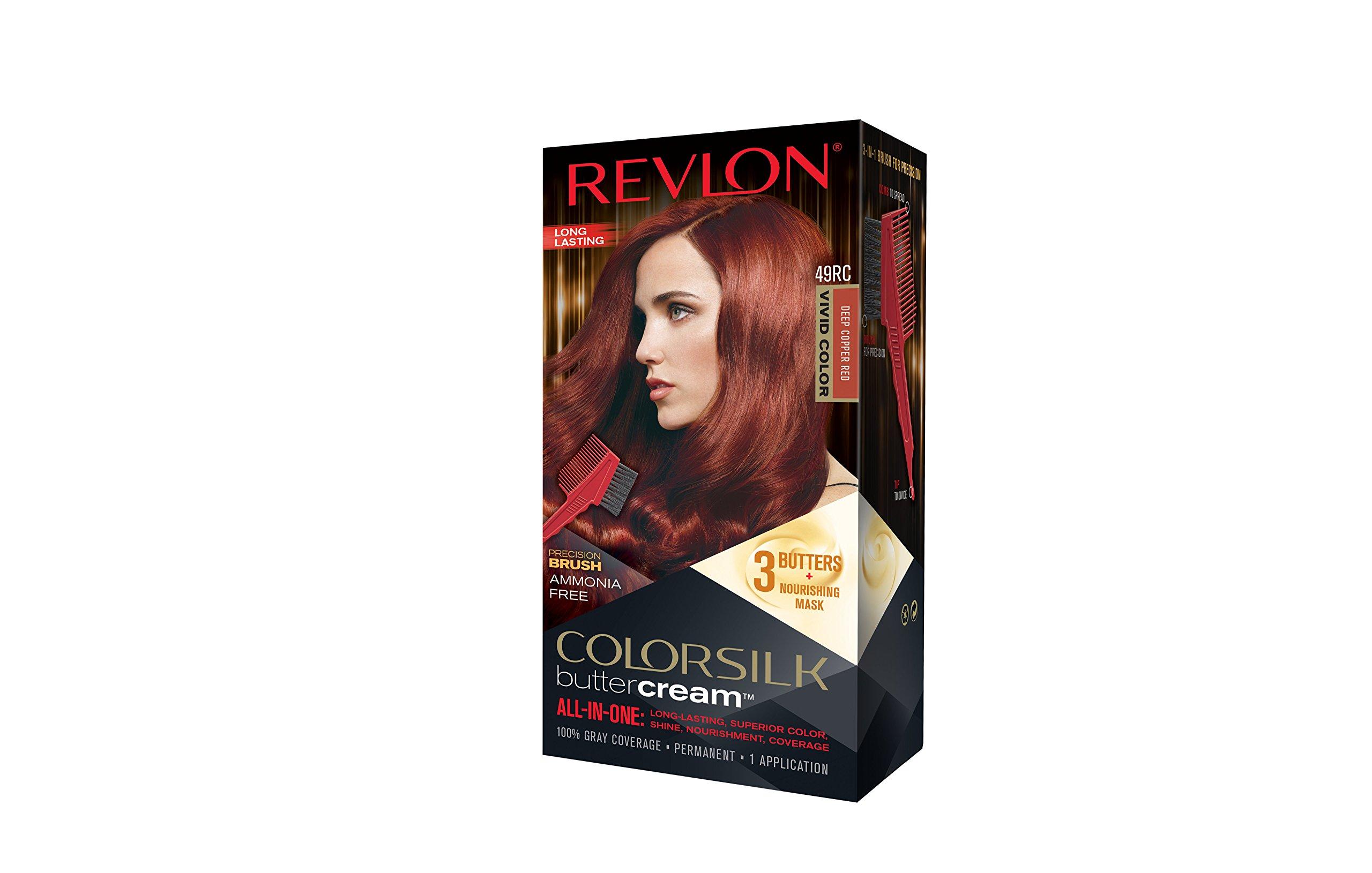 Amazon Revlon Colorsilk Buttercream Hair Dye Vivid Intense