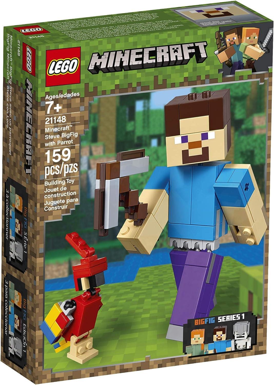 Lego Minecraft Minifigur Figürchen MIN016 Steve Helm Helm Neu New