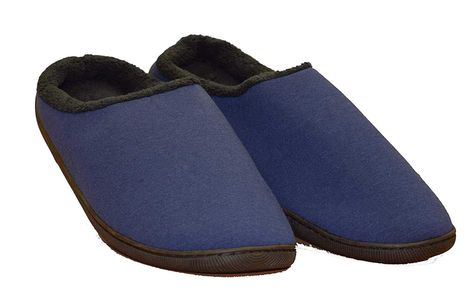 Fleece Lined Ultra Comfort Inside with Rubber Sole Side with Rubber Sole for Added Traction Inside Out Yogibo Slippers