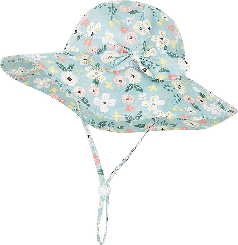 Next Baby Girls Floral Sunsafe Hat  UPF50 Age 12-24 Months BNWT