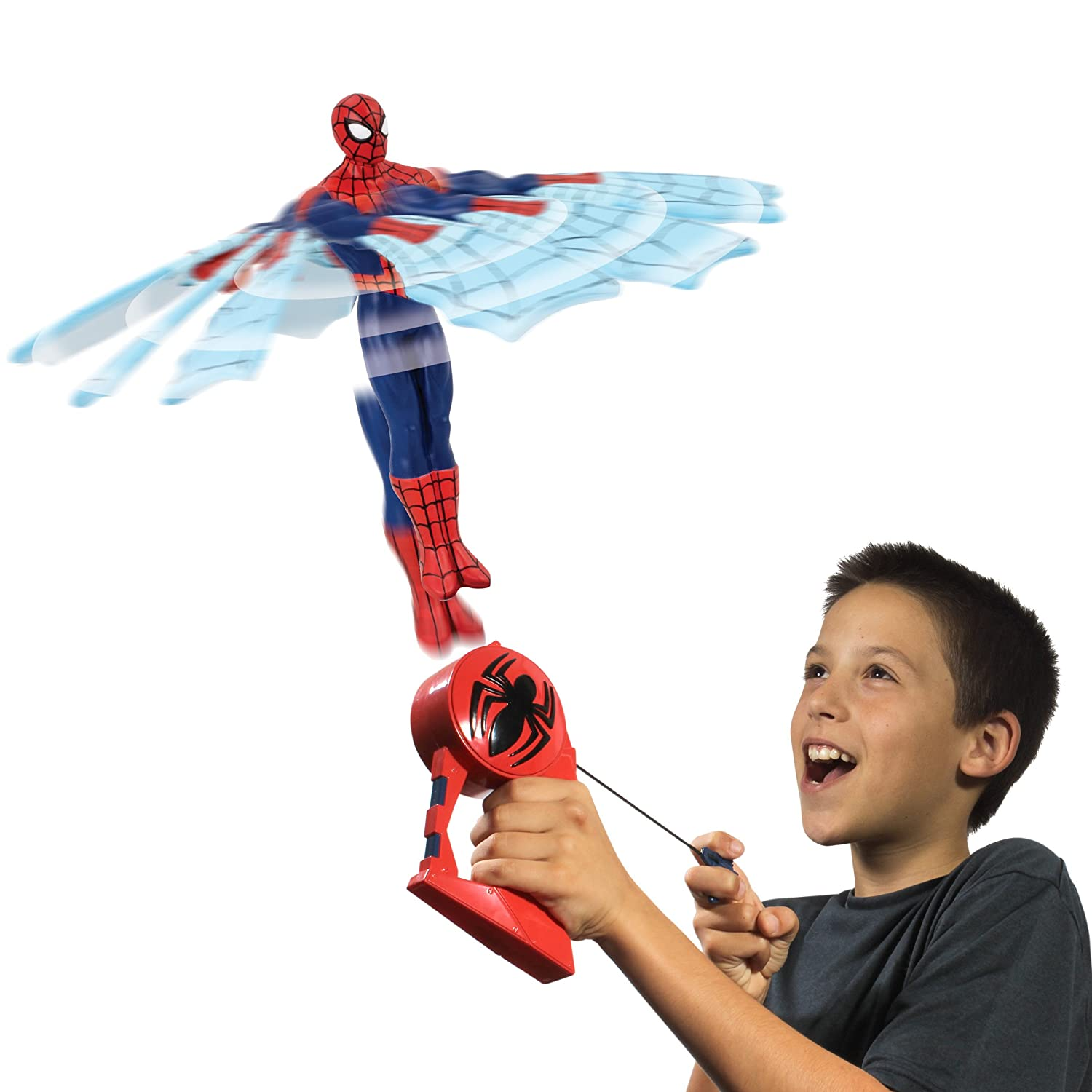 Amazon Flying Heroes Spider Man Action Figure Toys & Games