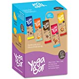 Yoga bar Multigrain Energy Bars (Variety Pack of 10) Chocolate, Vanilla Almonds, Cashew Orange and Nuts & Seeds