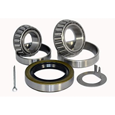 K3-310 Trailer Wheel Bearing Kit 25580/25520 LM67048/LM67010 10-10 for 5,200-6,000 lb axles: Industrial & Scientific