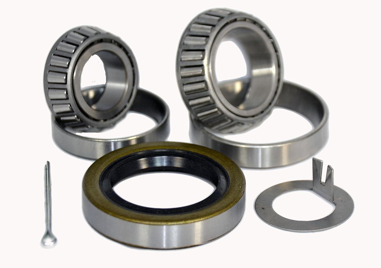 K3-310 Trailer Wheel Bearing Kit 25580//25520 LM67048//LM67010 10-10 for 5,200-6,000 lb axles