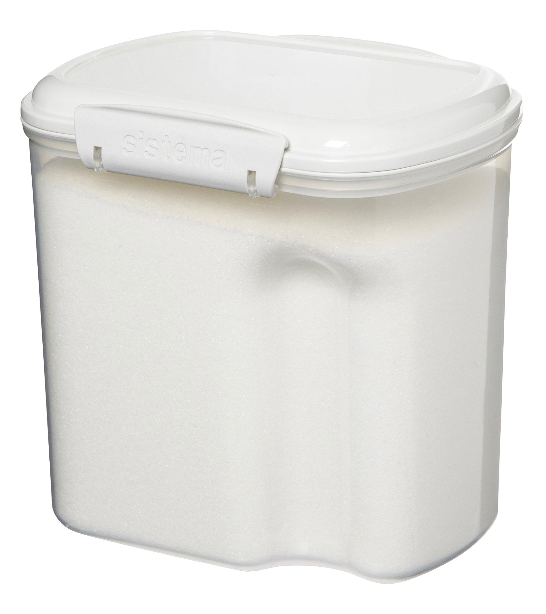 food storage container sugar flour saver set air tight lid kitchen pantry holder 689788772141 ebay. Black Bedroom Furniture Sets. Home Design Ideas
