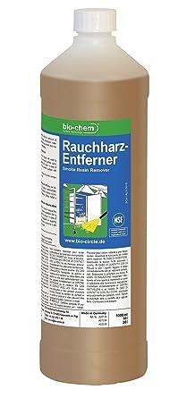 Bio de humo CHEM limpiador de resina 1000 ml Botella limpiador Barbacoa ahumadora limpiador de incienso