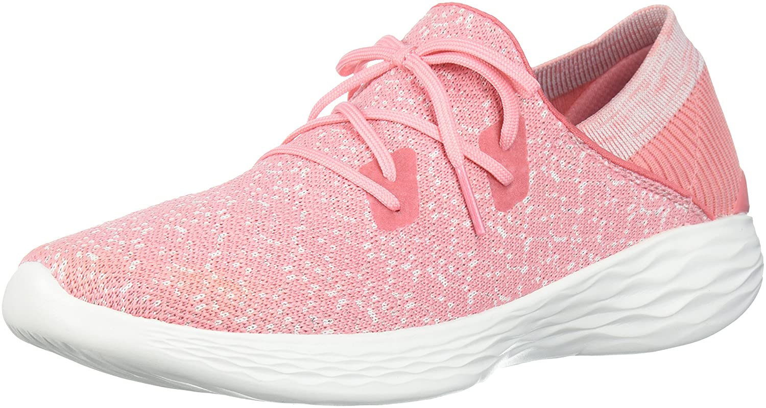 Skechers Women's You-14964 Sneaker B0721LRFHX 5.5 B(M) US|Pink