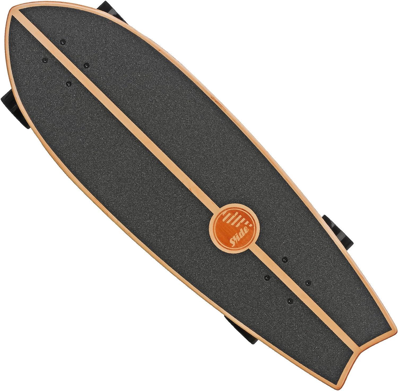 Roller Derby Slide Street Surf Skateboard Black Sox