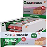 Maximuscle Promax Lean High Protein Bar, 60 g - Cookie Dough, Pack of 12