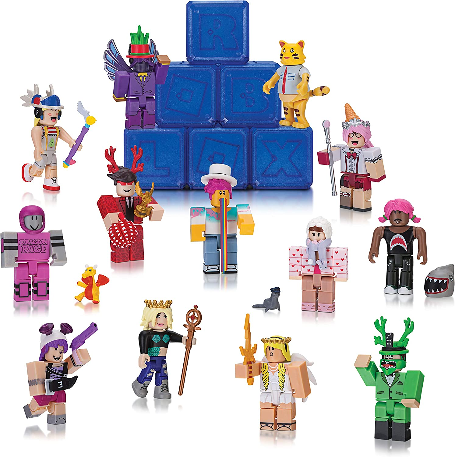 Amazon Com Roblox Celebrity Mystery Figures Series 2 Toys Games