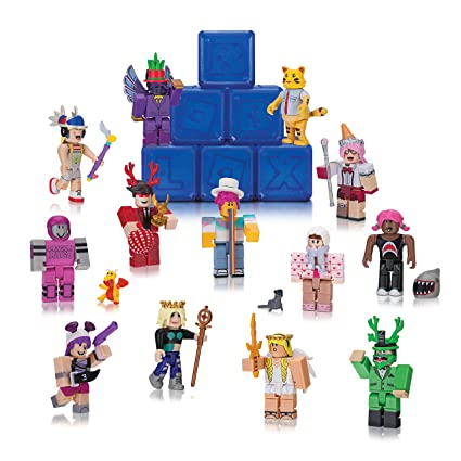 Roblox Gold Collection Series 2 Dark Blue Mystery Box (1 character per box )