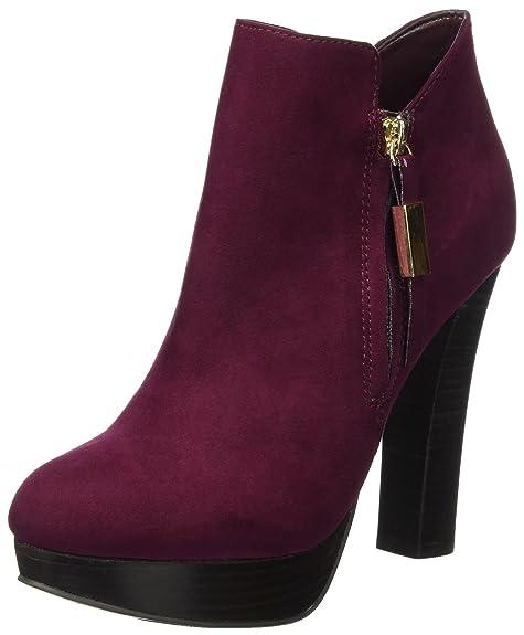ALDO Asadda, Botines para Mujer, Rojo (Bordo/40), 38 EU: Amazon.es: Zapatos y complementos