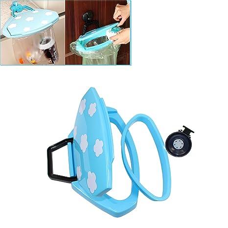 Abcsea 1 pieza soporte para bolsas de basura de adsorción ...