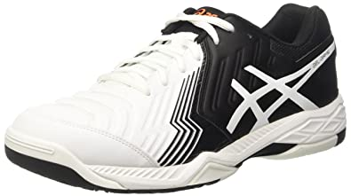 brand new 74d38 cff55 ASICS Gel-Game 6, Chaussures de Tennis Homme, Blanc Cassé (White